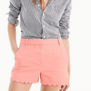 J.Crew Shorts with Scalloped Hem